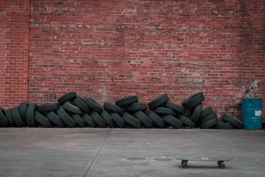 Подготовка места для хранения шин