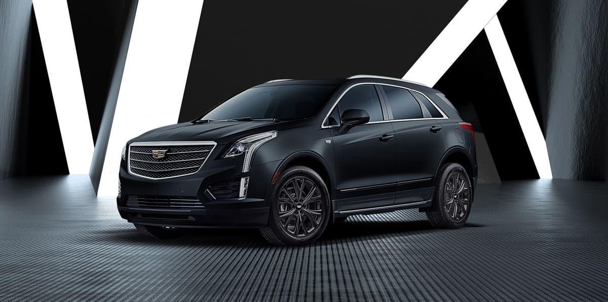 Cadillac XT5 Black Ice основное
